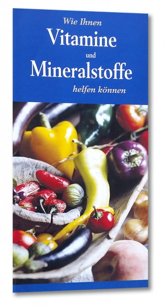 Wie Ihnen Vitamine und Mineralstoffe helfen können